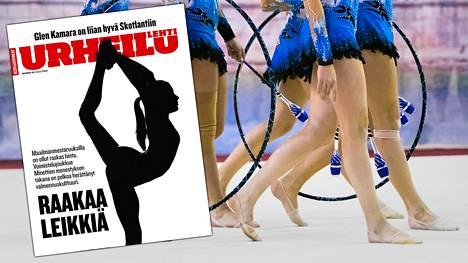 Urheilulehti kertoo tuoreessa numerossaan joukkuevoimistelun huippuseuran rajusta valmennuskulttuurista. Kuvituskuvan henkilöt eivät esiinny jutussa.