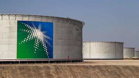 Aramcon öljytankkeja Abqaiqissa.