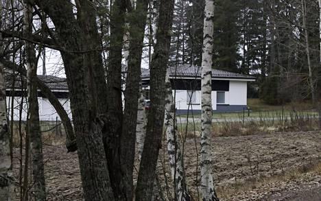 Veijo Baltzarin talo Raaseporin Tammisaaressa 25. marraskuuta 2019.