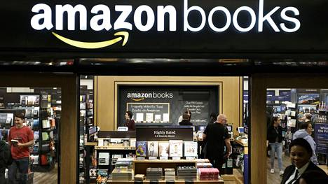 Verkkokauppa Amazon avasi toukokuussa New Yorkissa seitsemännen kirjakauppansa Yhdysvalloissa.