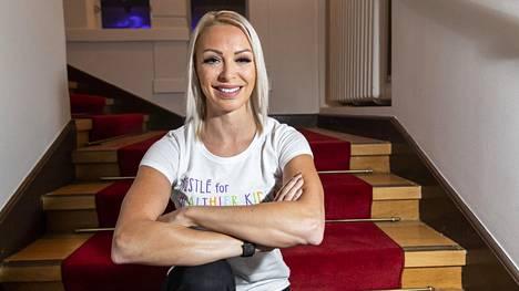 Yleisurheilija Annimari Korte oli torstaina vieraana MTV3:n Vappu ja Marja Live -ohjelmassa.