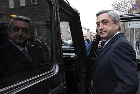 Armenian pääministeristä Serzh Sarkisianista on tulossa maan presidentti.