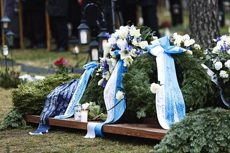 Tuomas Gerdt haudattiin Lappeenrantaan Lepolan hautausmaalle.