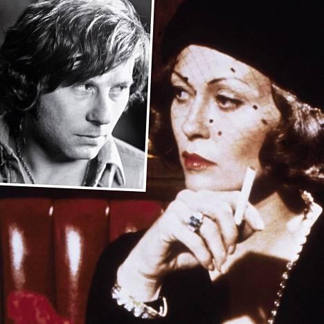 Kun Roman Polanski ei päästänyt Faye Dunawayta Chinatown-elokuvan kuvauksissa vessaan, nainen virtsasi kahvikuppiin ja heitti sisällön ohjaajan naamalle.