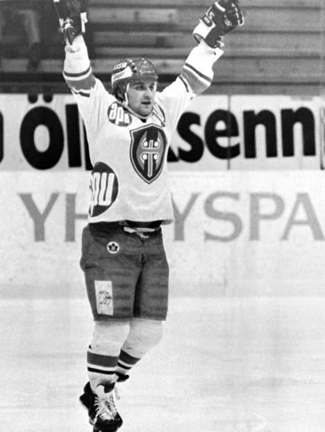 Martti Jarkko muistetaan taitavana hyökkääjänä. Hän voitti urallaan kolme Suomen mestaruutta, kaikki Tapparassa.