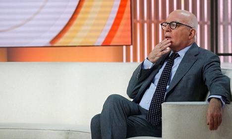 Toimittaja Michael Wolff vieraili perjantaina NBC:n Today-keskusteluohjelmassa kirjansa tiimoilta.