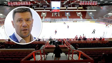 SM-liiga ei ole toimitusjohtaja Riku kallioniemen mukaan vielä päättänyt pelataanko pudotuspelejä ollenkaan vai pelataanko ne tyhjille katsomoille, kuten runkosarjan viimeiset kierrokset.