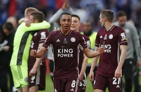 Youri Tielemans oli Leicesterin suurin sankari.