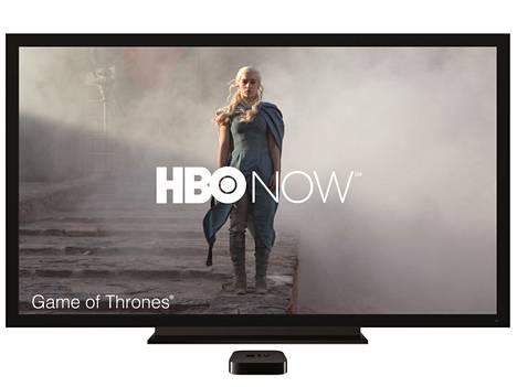 Apple TV pääsee ensimmäisenä jakelemaan HBO Now -nettipalvelun Game of Thrones -sarjan uusinta jaksoa.