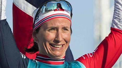 Norjan Marit Björgen ei onnistunut voittamaan Vaasahiihtoa ensimmäisellä yrityksellään.