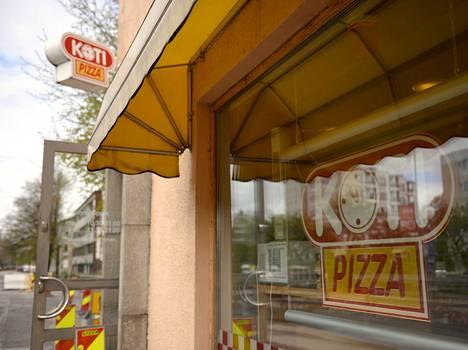Pörssiin listautuva Kotipizza on franchising-ketju.