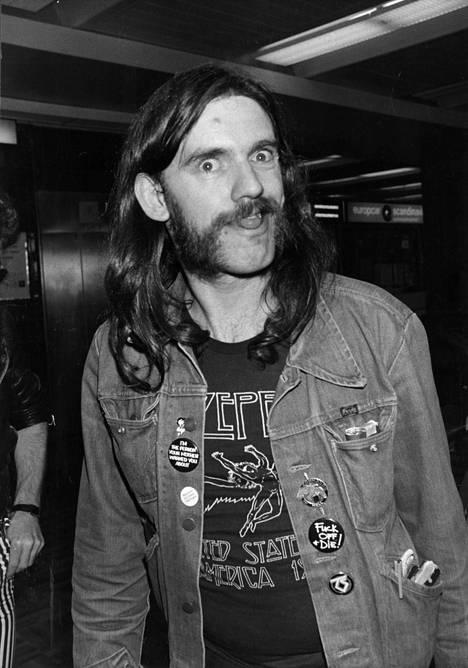 Lemmy Suomessa vuonna 1982.