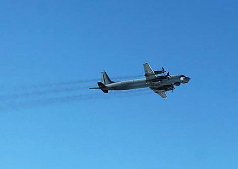 Venäjän sotilastiedustelu on aktiivinen lähialueillaan, muun muassa Suomessa. Kuvassa Venäjän ilmavoimien elektroniseen tiedusteluun suunniteltu Il-20-lentokone.