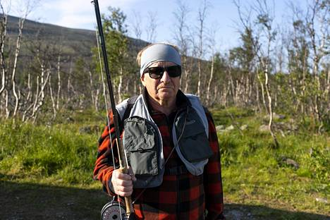 Perhokalastaja Jouko Anttonen on vieraillut Norjassa jo 47 kertaa.