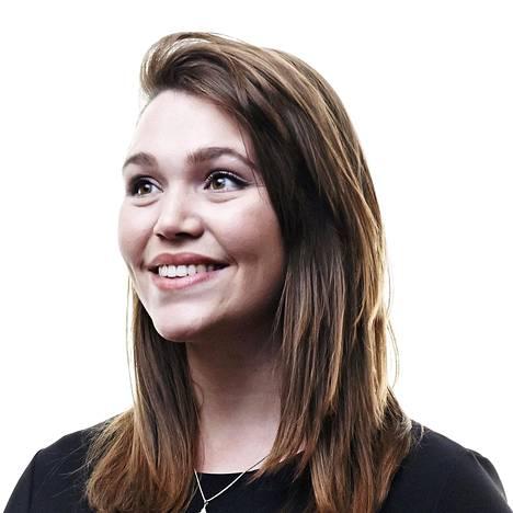 Katie Girow on asunut ja työskennellyt Suomessa viisi vuotta.