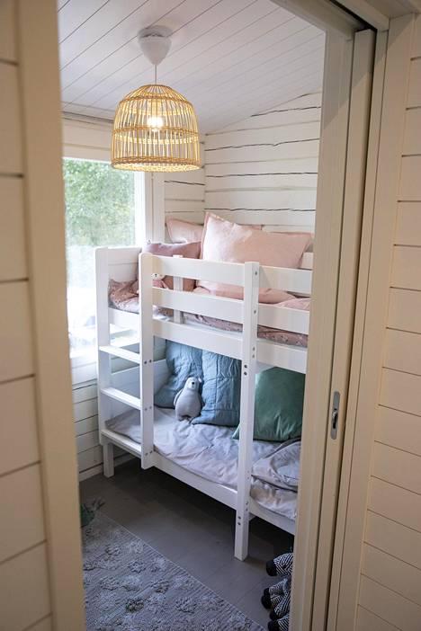 Tältä näyttää lastenhuone.