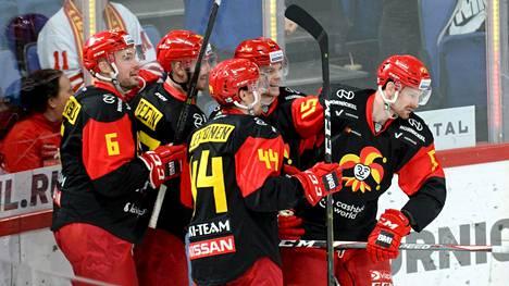 Jokerit voitti Moskovan Dinamon KHL:ssä perjantaina.