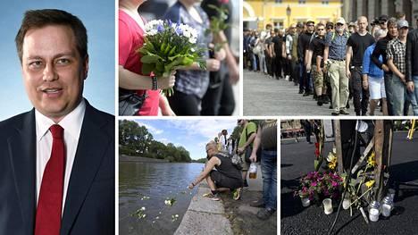 Kansallismielisten liittouma järjesti Turussa muistokulkueen toripuukotusten vuosipäivänä viime elokuussa. Tänä vuonna järjestettävässä tilaisuudessa muistopuheen pitää naantalilainen kansanedustaja Vilhelm Junnila (ps, kuva vas.).