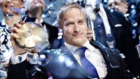 Leo-Pekka Tähti palkittiin Vuoden urheilijana tämän vuoden gaalassa.