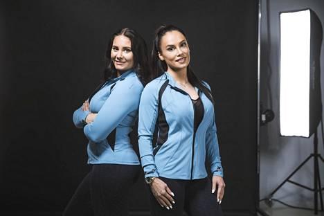 Fitnessmalli-kilpailun järjestää tänä vuonna Emmi Lehtomaa. (vas.) Viime vuodesta poiketen Nina Sarjolahti (oik.) ei osallistu kilpailun järjestämiseen.