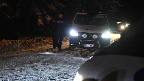 Poliiseja Kiimingissä.