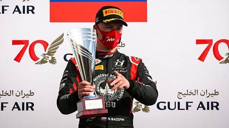 Nikita Mazepin debytoi F1-kilpailuissa alkavalla kaudella. Hän on saavuttanut alemmissa formulaluokissa kiitettävästi menestystä.