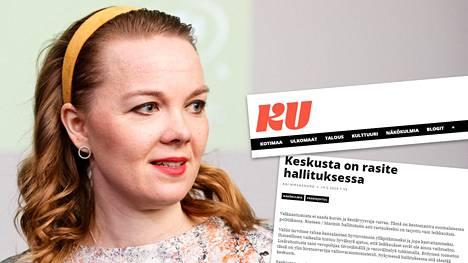 Kansan Uutiset syyttää valtiovarainministeriötä toimettomuudesta, ja näkee Katri Kulmunin keskustan säestävän ministeriötä.