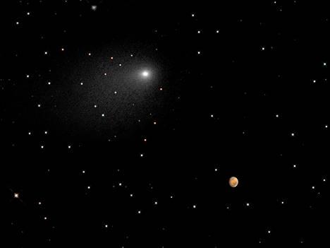 Hubblen ottama kuva Siding Springistä.