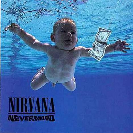 Nevermind-levyn kansi on saavuttanut kulttiaseman.