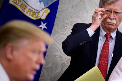John Bolton on toiminut Valkoisen talon kansallisen turvallisuuden neuvonantajana viime vuoden maaliskuusta lähtien.