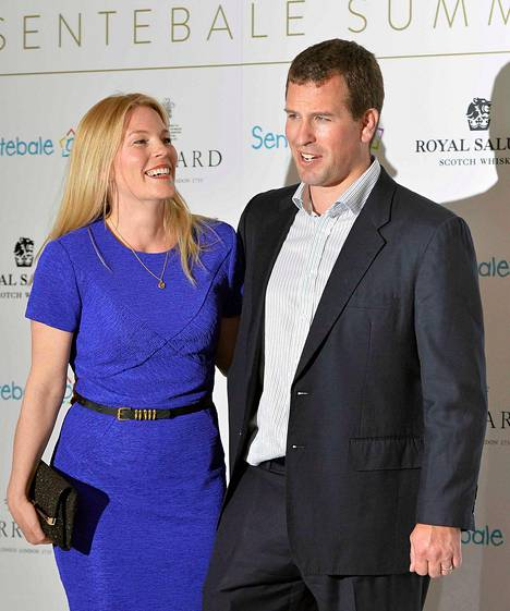 Peter ja Autumn Phillips avioituivat vuonna 2008.