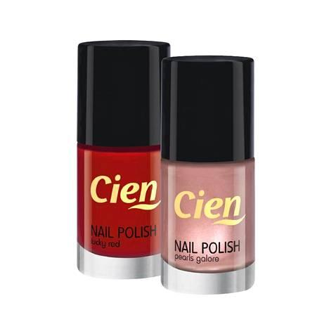 Cienin täydellisen punainen kynsilakka tai söpö helmiäislakka täydentää ne täydelliset varpaat, 2,90 €.