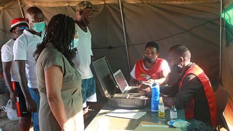 Namibiassa äänestettiin paikallisvaaleissa.