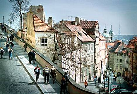 Praha on kevään ykköskaupunkikohde.