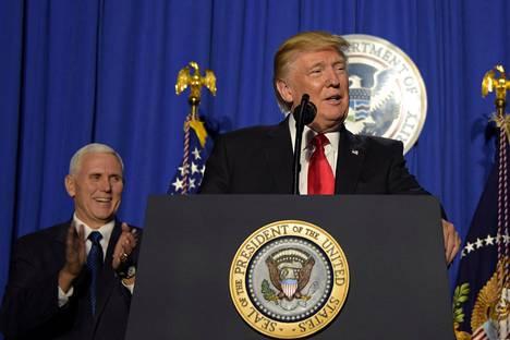 Presidentti Donald Trumpin hallinnosta on vuotanut tietoja mediaan.