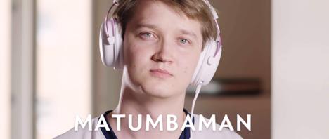 """Lasse """"MATUMBAMAN"""" Urpalainen voitti Dotan MM-kisat joukkueensa Team Liquidin kanssa elokuussa 2017."""