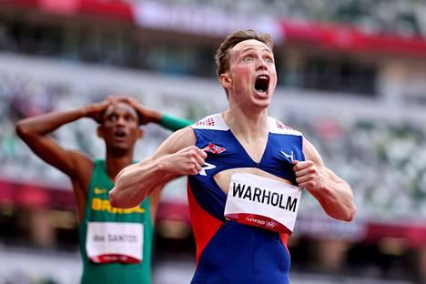 Norjassa panostetaan laajan tason sijasta yksittäisiin huippuihin. Olympiavoittaja ja ME-mies Karsten Warholm on näistä kirkkain.