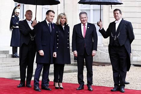 Presidentti Sauli Niinistö tapasi ranskalaiskollegansa Emmanuel Macronin viime viikonloppuna Pariisissa.
