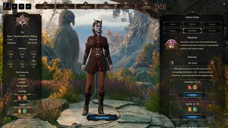 Hahmon luomiseen on valmiissa pelissä luvassa entistä enemmän vaihtoehtoja.