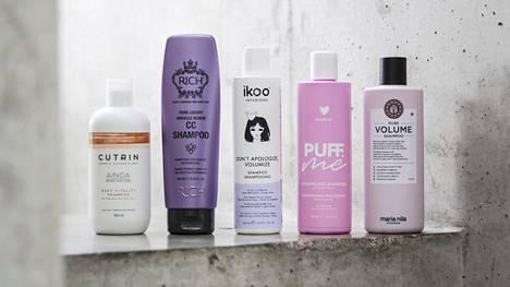 Volyymia lupaavissa shampoo- ja hoitoainepareissa on todella eroja.