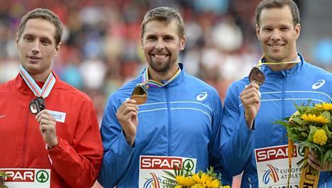 EM-mitalikolmikosta Vesely, Ruuskanen, Pitkämäki jokaisella on mahdollisuus Timanttiliigan kokonaiskilpailun voittoon.