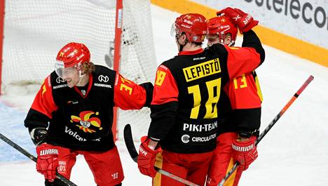 KHL-joukkue Jokerit pelaa kotiottelunsa Helsingissä.