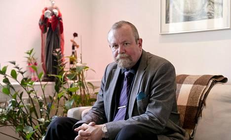 Psykiatrisen vankisairaalan ylilääkäri Hannu Lauerma.