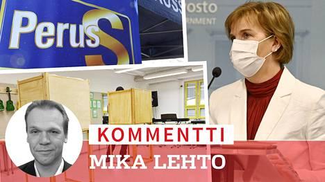 Perussuomalaiset aikoo jättää epäluottamuslauseen oikeusministeri Henrikssonista kuntavaalien siirtämisen takia.