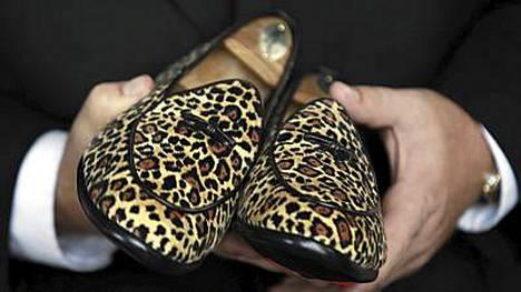 Bernard Madoffille kuuluneet kengät.