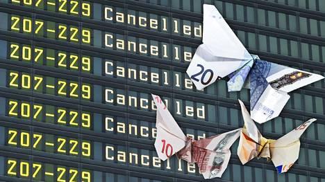 Lentomatkustamisessa aika on rahaa.
