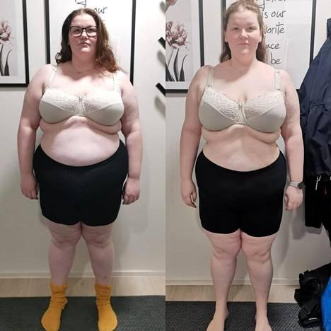 Rosan laihdutusurakka on vielä kesken. Siitäkin huolimatta välitavoitteista kannattaa riemuita!