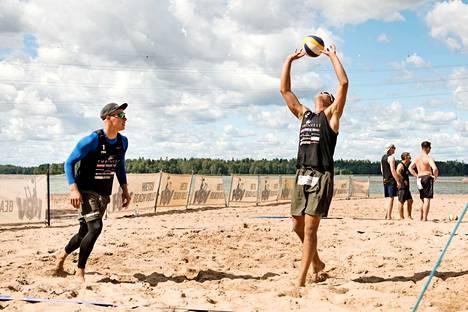 Jyrki Nurminen ja Santeri Sirén ovat voittaneet Suomen kiertueella kymmenen turnausta peräjälkeen.