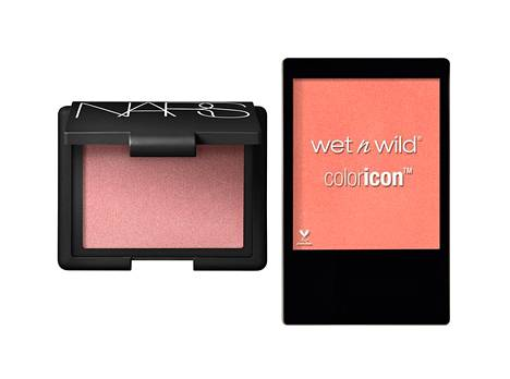 NARS Blush 28,80 €, mm. Feelunique, Wet n Wild Color Icon Blush 6,90 €, mm. Stockmann.