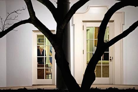 Valkoisessa talossa on ollut hiljaista viime keskiviikon jälkeen.